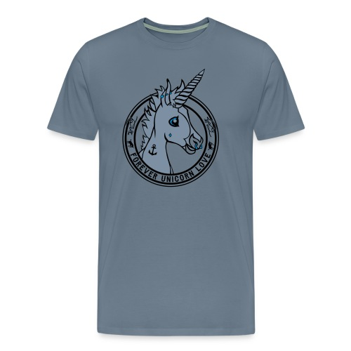 Colt - Unicorn Love (onwhite) - Männer Premium T-Shirt