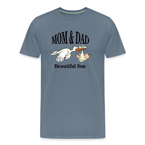 Mom & Dad Son - Men's Premium T-Shirt