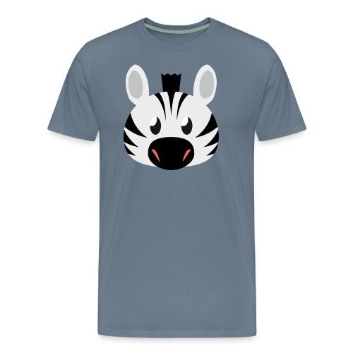 Zebra Zoe - Men's Premium T-Shirt