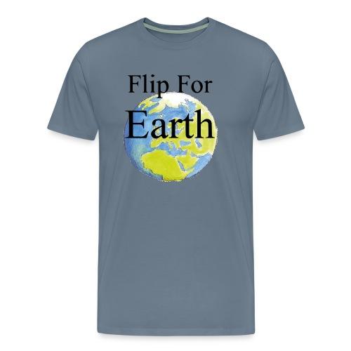 flip_for_earth - Premium-T-shirt herr