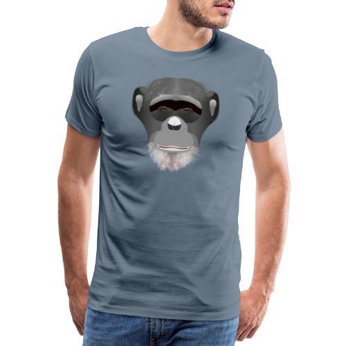 Chimpanse - Mannen Premium T-shirt