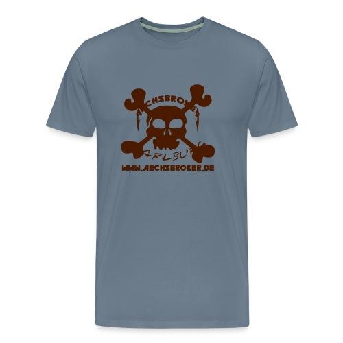 aechsbrokerskull - Männer Premium T-Shirt