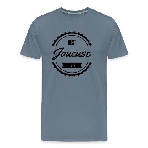 best joueuse player sport jeux - T-shirt Premium Homme