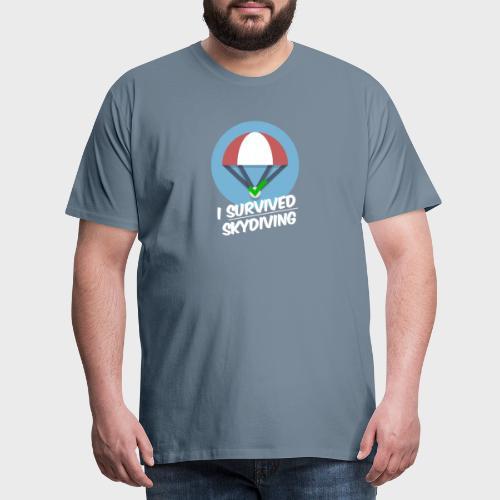 I survived Skydiving - Männer Premium T-Shirt