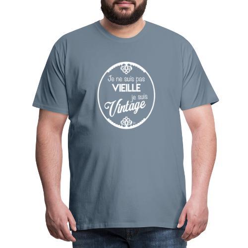 Je ne suis pas vieille (blanc) - T-shirt Premium Homme