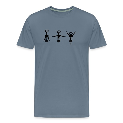 Ich bin Bodybuilder (Ohne Text) - Männer Premium T-Shirt