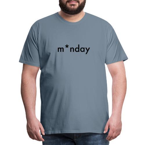 m*nday - Herre premium T-shirt