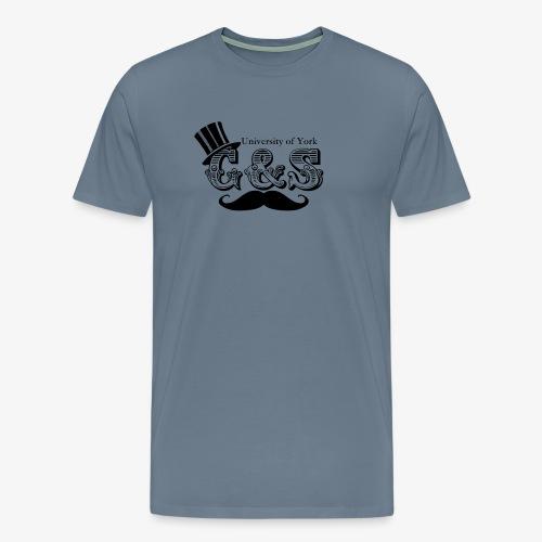 Gilbert and Sullivan Logo - Men's Premium T-Shirt