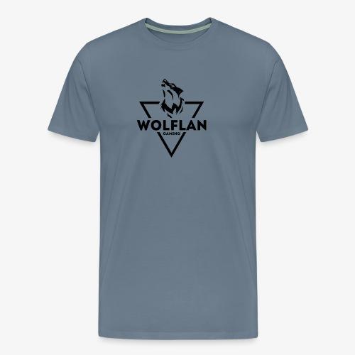 WolfLAN Gaming Logo Black - Men's Premium T-Shirt