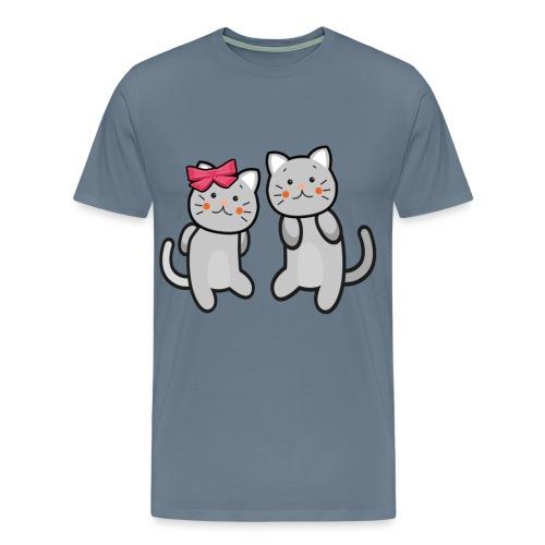Kotki - Koszulka męska Premium