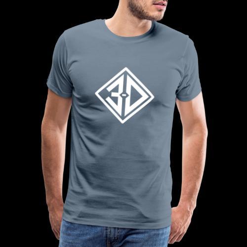 3d N et B - T-shirt Premium Homme