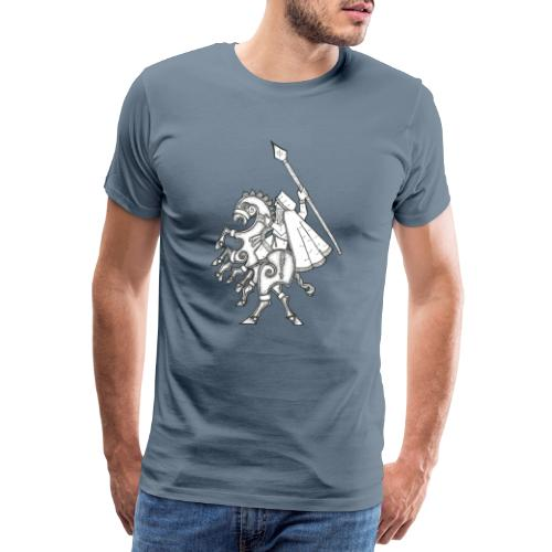Odin, chevauchant Sleipnir - T-shirt Premium Homme