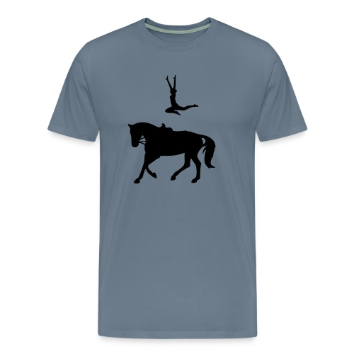 Voltigieren Sprung - Männer Premium T-Shirt