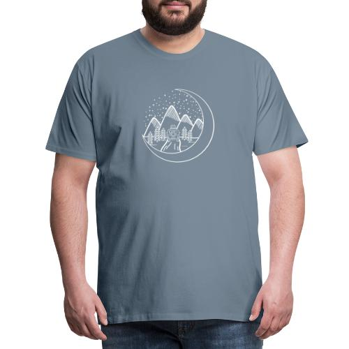Camping in the night - Mannen Premium T-shirt