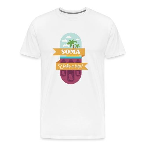 Soma - Il mondo nuovo - Aldous Huxley - Maglietta Premium da uomo
