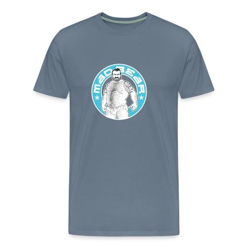 Mad.bear T-shirt blue - Camiseta premium hombre