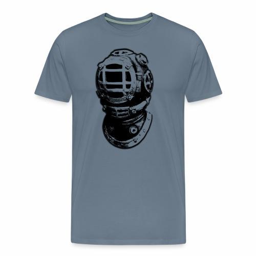old diving helmet - Men's Premium T-Shirt