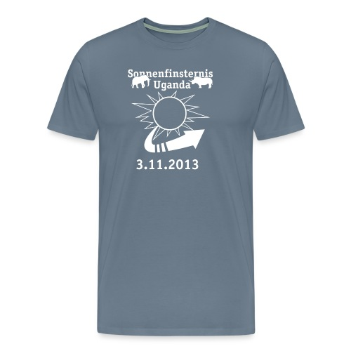 RZ T Shirt Sofi Uganda 2013 png - Männer Premium T-Shirt