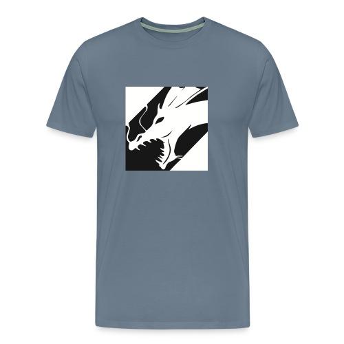 Dragon White Mok - Mannen Premium T-shirt