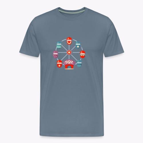 Ferris Wheel - Men's Premium T-Shirt