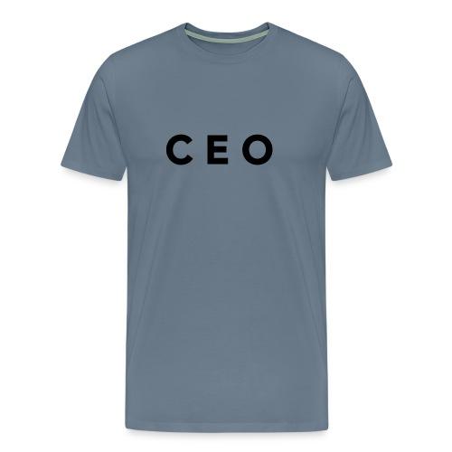 CEO LOGO BLACK - Men's Premium T-Shirt