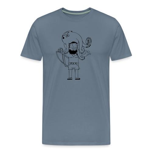 Surf Octopus - Männer Premium T-Shirt