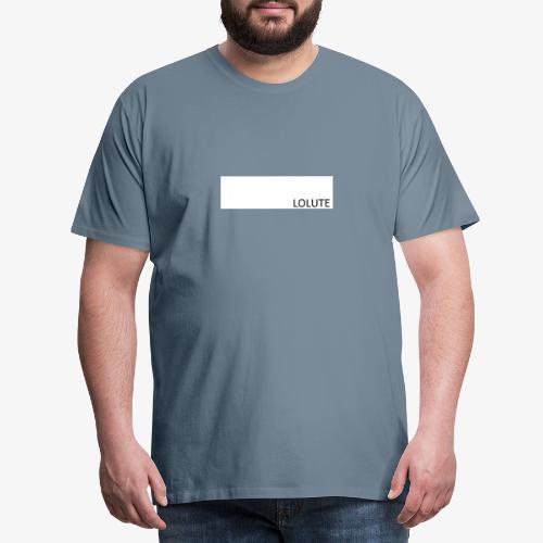 LOLUTE - Premium-T-shirt herr