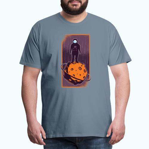 Astronaut vintage drawing - Men's Premium T-Shirt
