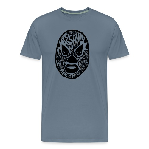 luchador mask2 - Mannen Premium T-shirt