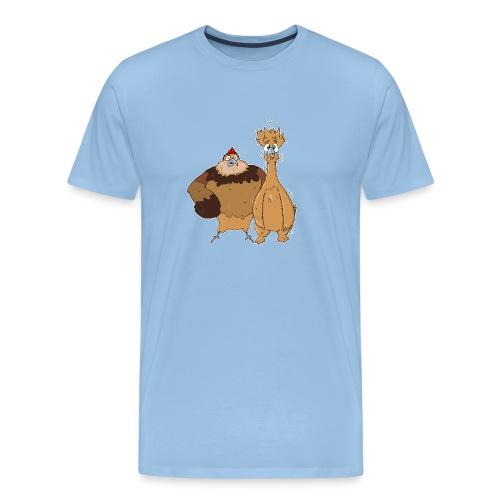 Drumstick Nugget - Mannen Premium T-shirt