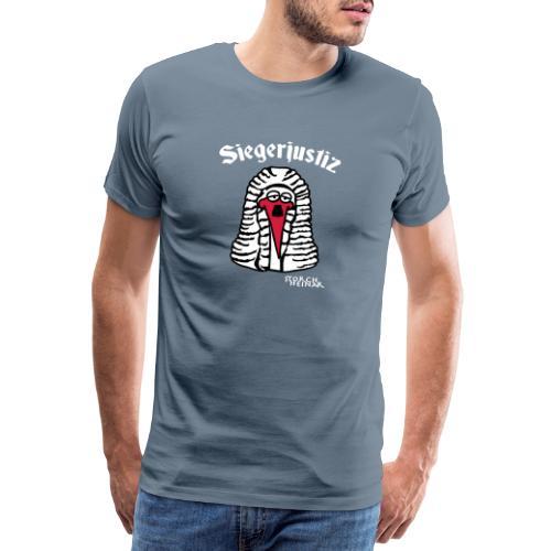 Storch Heinar Siegerjustiz - Männer Premium T-Shirt