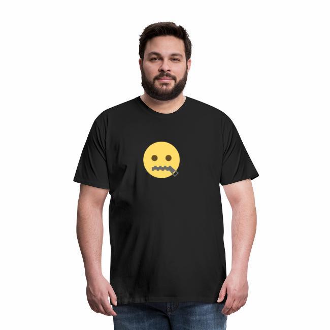 emoji bocca chiusa
