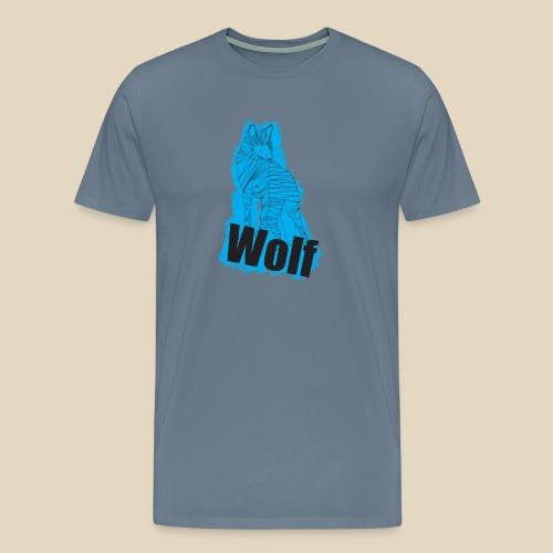 Blue Wolf - T-shirt Premium Homme