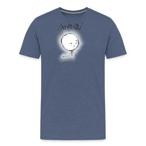 kreisling mit logo (schwarz) - Männer Premium T-Shirt