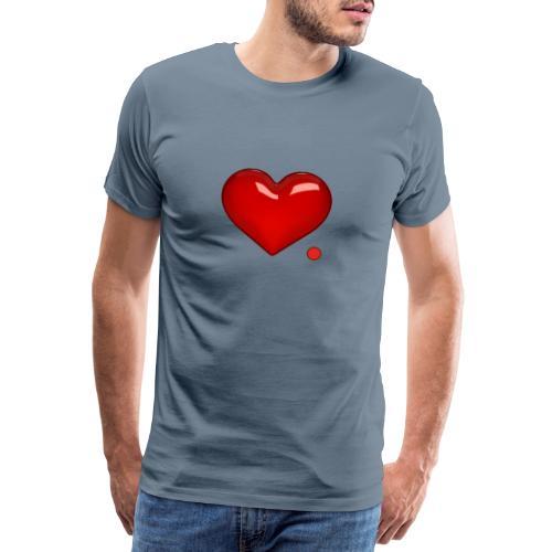 Love. Regalo. Coppia. Amore. - Maglietta Premium da uomo