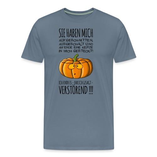 armer Kuerbis - Männer Premium T-Shirt