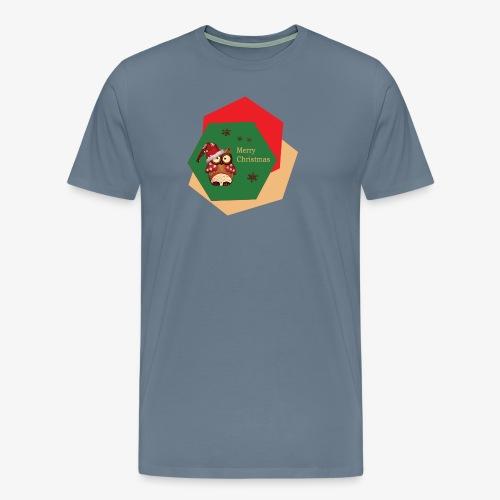 Christmas Owl - T-shirt Premium Homme