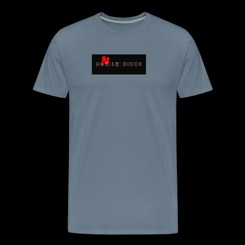mobile disco logo schwarz - Männer Premium T-Shirt