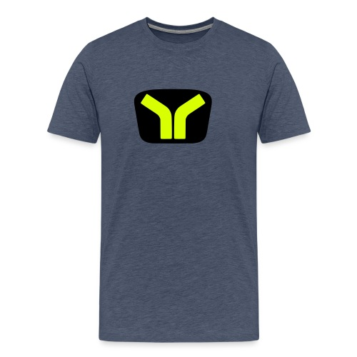Yugo logo colored design - Men's Premium T-Shirt