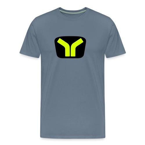 Yugo logo colored design - Men's Premium T-Shirt