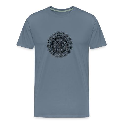 Flower mix - Herre premium T-shirt