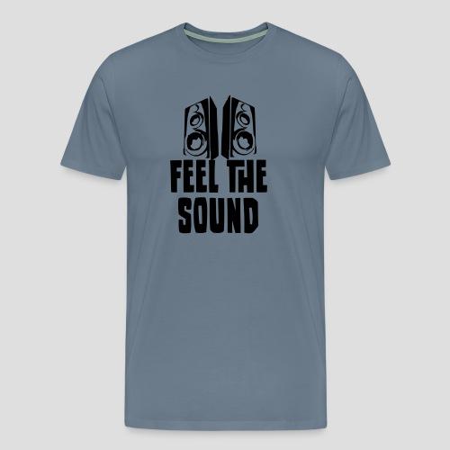 feel the sound - Männer Premium T-Shirt