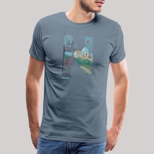 Immer wieder Neuss - Männer Premium T-Shirt