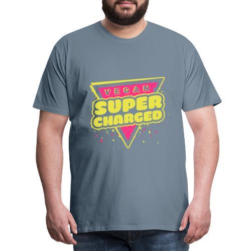 Vegan Supercharged - Men's Premium T-Shirt