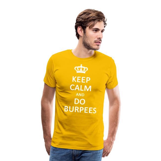 Keep calm and do burpees