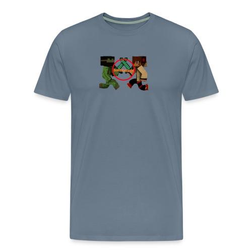 YT-HætteTrøje-Sort-SimOleGamingDK - Herre premium T-shirt