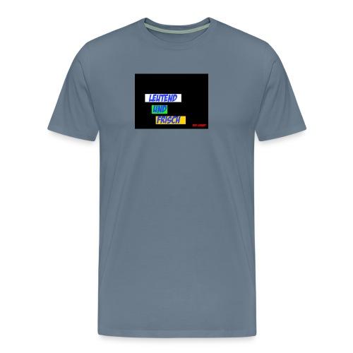Leuchtend und frisch - Männer Premium T-Shirt