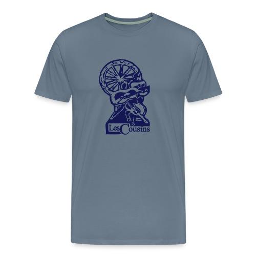 Les Cousins Logo - Men's Premium T-Shirt
