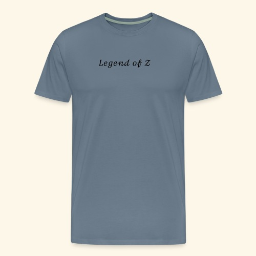 Legend of Z - Premium-T-shirt herr