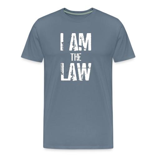 Tank top girl woman I AM THE LAW per avvocatessa - Men's Premium T-Shirt